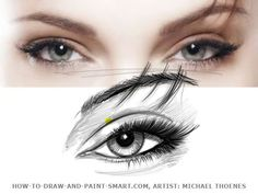 How to Draw Girls Eyes