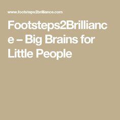 Footsteps2Brilliance – Big Brains for Little People