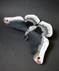 Gorgeous Fabric Sculptures of Moths, Butterflies, and Other Insects