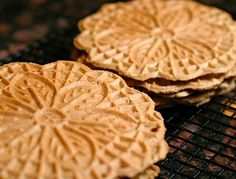 The Italian Dish - Posts - Italian Pizzelle Ice Cream Sandwiches.add nutella and caramel