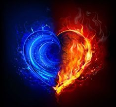 Bring your twin flame into your life ! Have you ever wondered where your twin flame is and why you haven& had it in your life? Eis Tattoo, Fire N Ice, Flame Tattoos, Flame Art, Twin Flame Love, Heart Pictures, Homemade Candles, Fire Heart, Galaxy Wallpaper