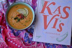 Viikonloppukokki: Porkkana-bataattikeitto Kasvis ruokakirjasta
