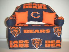 Chicago Bears Tissue Box Couch