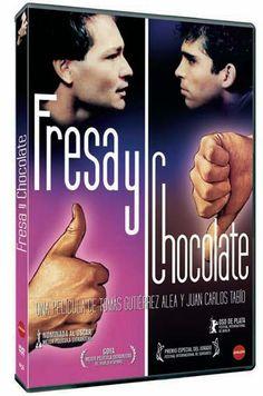 Fresa y chocolate (1993). Cuba. Dir. Tomás Gutiérrez Alea y Juan C. Tabío. Drama. Homosexualidade - DVD CINE 2179
