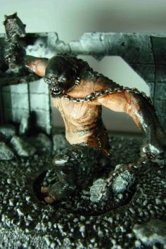 Lord of the Rings cave troll from games workshop I painted. Warhammer Figures, Battle Games, Miniture Things, Gw, Middle Earth, Lord Of The Rings, Tolkien, Mythical Creatures, Lotr