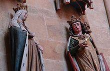 Otto I. (HRR) und Adelheid im Meißner Dom
