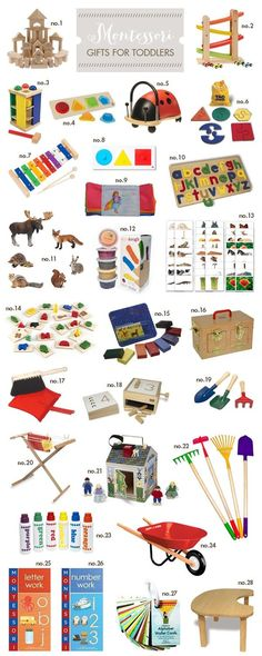 Montessori gifts for toddlers #pregnancygifts