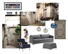 """""""Stairway to Italy"""" by canoe-communicationsblog ❤ liked on Polyvore featuring interior, interiors, interior design, home, home decor, interior decorating, Kartell, Thos. Baker, Cappellini and Tech Lighting"""