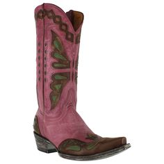 Old Gringo Women's Butterfly Inlay Western Boots