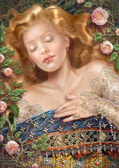 Sleeping Beauty ~ by Maxine Gadd
