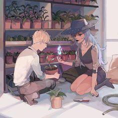Ha Leon and Enya?