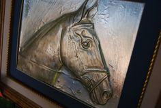 Horse serene JJgaliciaMetalRelief by by JJgaliciaMetalRelief, $155.00