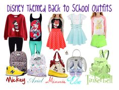 """""""Disney themed back to school outfits"""" by miab1245 ❤ liked on Polyvore featuring Vans, Steve Madden, Disney, New Balance, Pikolinos, Coach, Grafea and Miista"""