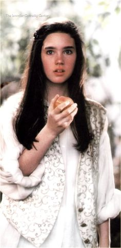 Sarah: [after eating the peach] Hoggle, what've you done?  Hoggle: [leaves in fear] Oh, damn you, Jareth. And damn me, too.