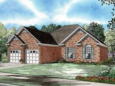 New American Style 1 story 3 bedrooms(s) House Plan with 1472 total square feet and 2 Full Bathroom(s) from Dream Home Source House Plans