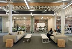 Zendesk San Francisco Headquarters Software provider #Meeting rooms #Exposed brick