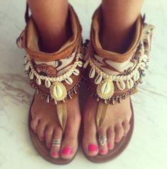 обувь в стиле бохо шик