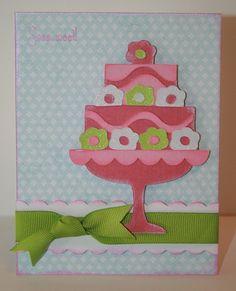 Cricut Card. Once Upon a Princess Cartridge by September Ninth.