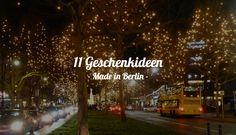 11 Geschenkideen: Lokale Unikate aus Berlin — Medium