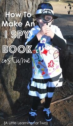 A Little Learning For Two: I Spy Book Costume