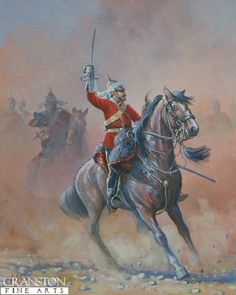 2nd Dragoon Guards Officer by Mark Churms.
