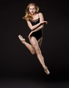 Carla Körbes, Principal at Pacific Northwest Ballet....look at those muscles in her legs.
