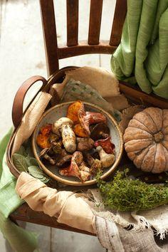 Mushrooms in the autumn