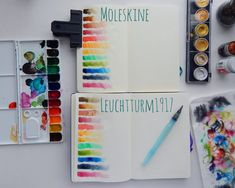 Watercolor Obsessed If you've followed me for any amount of time, then you know I love my watercolors. I use them in my bullet journal constantly. This is a source of much curiosity for many of my readers and followers. Well, today I'm going to experiment with two popular journals used in the bullet journal …