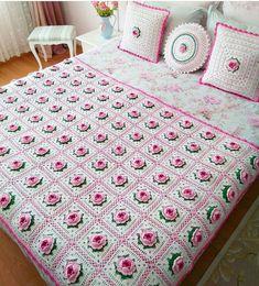 Mason Jar Crafts – How To Chalk Paint Your Mason Jars - Mimicrop Crochet Home, Crochet Granny, Crochet Motif, Crochet Designs, Crochet Baby, Crochet Pillow Patterns Free, Crochet Bedspread Pattern, Crochet Cushion Cover, Crochet Cushions