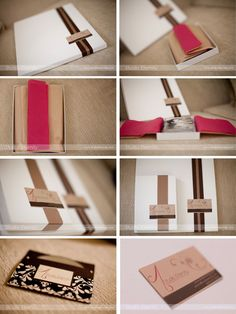 photo packaging and presentation