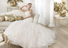 Leire - Pronovias 2014 - Esküvői ruhák - Ananász Szalon - esküvői, menyasszonyi és alkalmi ruhaszalon Budapesten