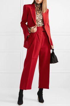 Petar Petrov   Jaime canvas blazer Urban Fashion Trends, Latest Fashion For Women, Fall Fashion Outfits, Look Fashion, Blazer Fashion, Style Royal, Style Casual, Professional Outfits, Colourful Outfits
