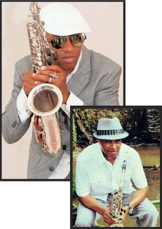 Antoine Knight - versatile performer and musician, doing hundreds of private parties, weddings and corporate events. www.blowdahorn.com