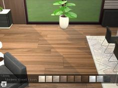 These modern wood floors have a light glossy effect that gives them a nice sheen polish, great for modern/contemporary/Scandinavian builds, the soft colors pair nicely with all wall-types,  and...