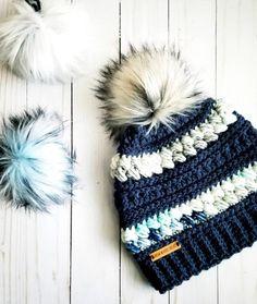 Crochet Beanie Pattern, Crochet Yarn, Crochet Patterns, Hat Patterns, Crochet Ideas, Rope Crafts, Spinning Yarn, Crochet For Boys, Yarn Colors