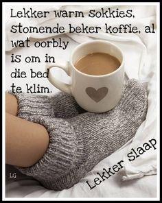 Lekker slaap met warm sokkies
