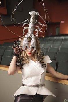Awesome Lady Gaga costume from one of Glee episodes.