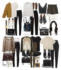 """""""Inspired outfits for work"""" by nikka-phillips ❤ liked on Polyvore featuring McQ by Alexander McQueen, rag & bone, Coldwater Creek, H&M, Ray-Ban, Gucci, ASOS, Chanel, La Perla and Louis Vuitton"""