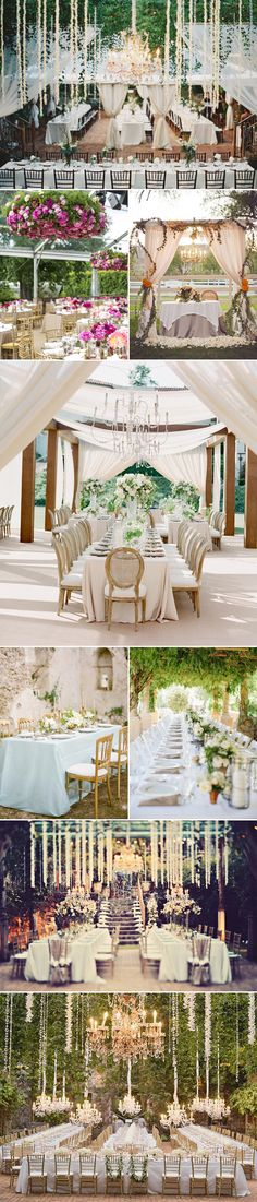 28 Beautiful Spring Outdoor Reception Decor Ideas - Romantic Elegance!
