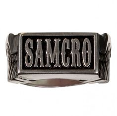 Sons of Anarchy Season 5 SAMCRO Charter Ring