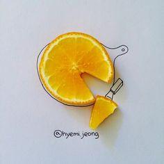 Lindas ilustraciones hechas con objetos comunes | Quiero más diseño