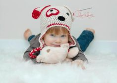 Children's Crochet Hat Pattern / Valentine's Hat / by 3BoysAndABallOfYarn