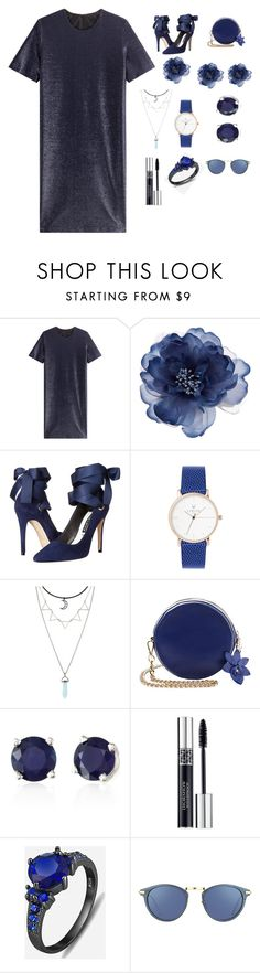 """Blue 🔷🔵"" by boomorx1 ❤ liked on Polyvore featuring Jil Sander, Accessorize, Alice + Olivia, Effy Jewelry, Christian Dior and Linda Farrow"