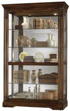 What to put in my curio cabinet - books, simple jars...