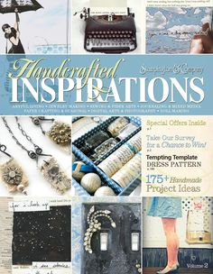 Handcrafted Inspirations  Flip through the pages of this free digital magazine, and find over 175 project ideas, home decorating and storage solutions, a free Tempting Template pattern for card makers, exclusive discount codes, and a chance to win one of ten gift certificate prizes inside. This free digital edition has something for every type of crafter and artists of all levels, so be sure to explore our all-time favorite articles and projects in these popular areas:      Artful Living…