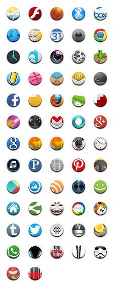 PhoneIcons Mix23 Desktop Icons, Tech, Phone, Tableware, Technology, Telephone, Dinnerware, Dishes, Phones