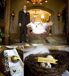 Planning a Michigan Wedding with Pearls Events: Love Bird Wedding
