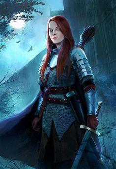 Lady Knight by Oana-D.deviantart.com on @DeviantArt