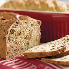 Apple Barley Bread is a healthy baked treat. Healthy Bread Recipes, Healthy Baking, Barley Bread Recipe, Milk Roll, Barley Flour, Dried Apples, Puff Pastry Recipes, King Arthur Flour, Instant Yeast