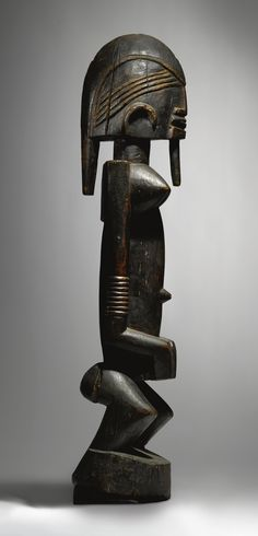 Africa | Female Figure. By the Ogol Circle of Artists, Dogon culture ~ Mali | 542,500$ ~ Sold
